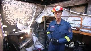 Dfes After The Fire   Fire Investigation Walk Through