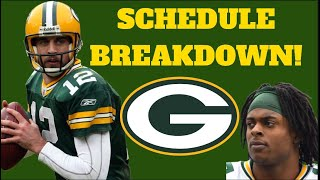 Packers Schedule Released!