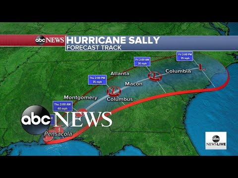 Tracking Hurricane Sally as it devastates the Gulf Coast