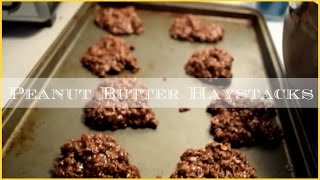 No Bake Cookies | Peanut Butter Haystacks