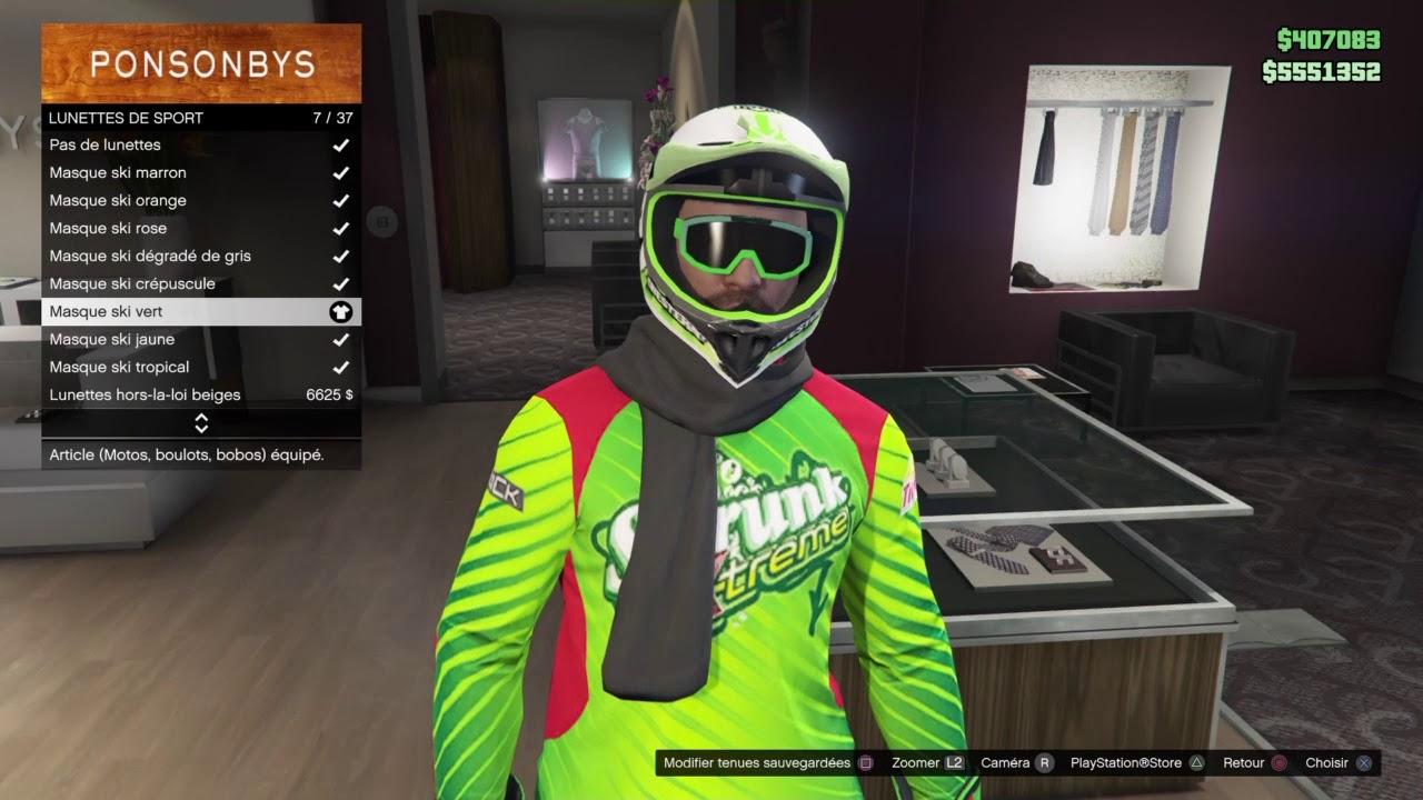 Tenue Moto Cross Gta V Online
