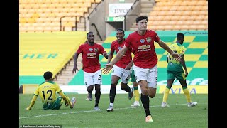 Norwich 1-2 Manchester United GOALS Ighalo Cantwell Maguire