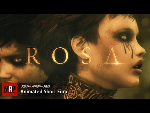 "CGI 3D Animated Short Film ""ROSA"" AWARD Winning Matrix Style Action Animation by Orellana Pictures"