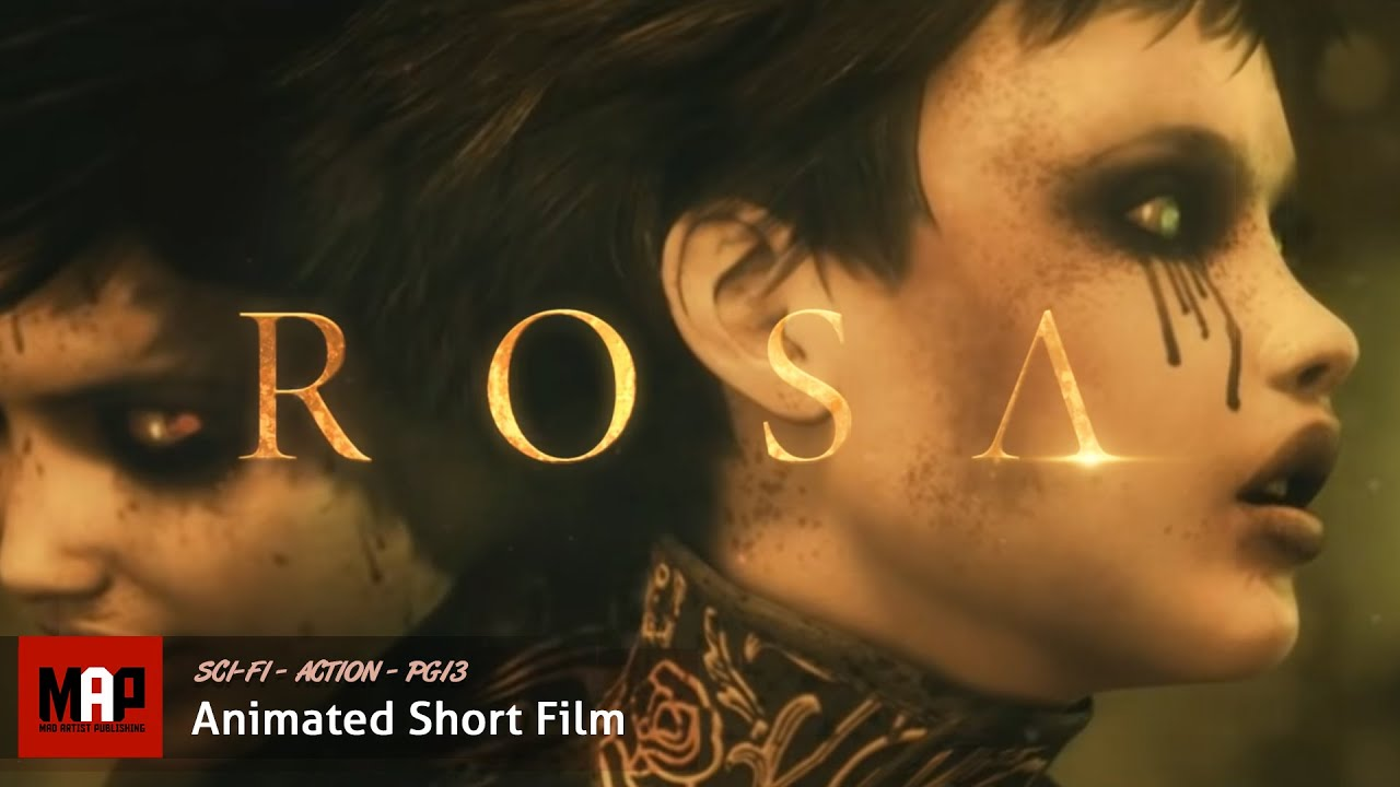 Download Sci-Fi Cyberpunk Action CGI 3d Animated Short Film ** ROSA * Award Winning Film by Orellana Pictures