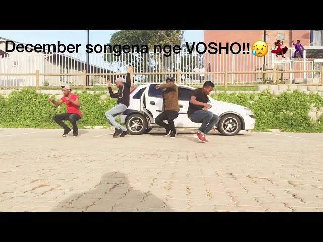 Vosho for December🕺🏾🕺🏾New Durban benga dance (must watch !!!!!)by Team Flex Fam
