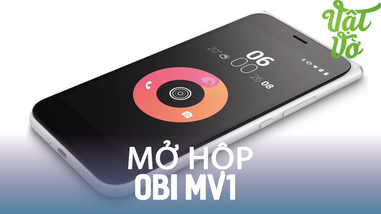 Vật Vờ| Mở hộp & đánh giá nhanh Obi MV1: cài sẵn Cyanogen, Snapdragon 212