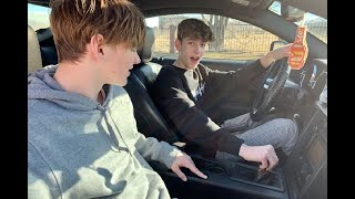 LEARNING to DRIVE A MANUAL CAR (stick shift)