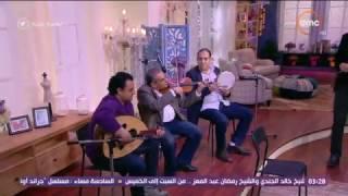 السفيرة عزيزة - المطرب / إبراهيم راشد ... يبدع في اغنية