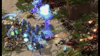 Ragnarok (Z) v ShoWTimE (P) on King's Cove - StarCraft 2 - Legacy of the Void 2019