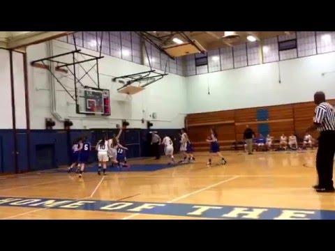 Herricks High School Girls JV Basketball vs Long Beach 020916