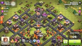 Clash of Clans - Farming Dark Elixir In Master League - How To Farm DE Quickly