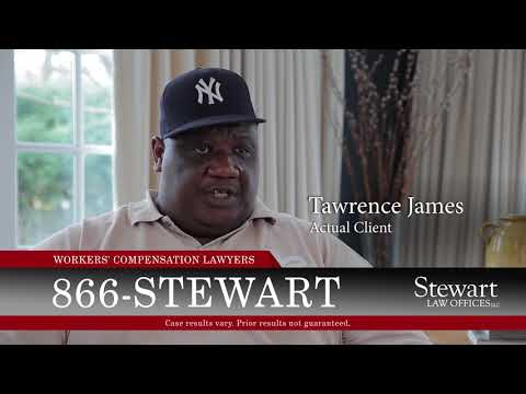 Stewart Law Offices - Client, Tawrence James