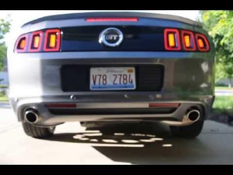 2014 mustang gt stock exhaust youtube