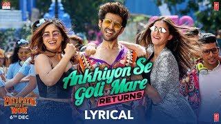 Ankhiyon Se Goli Mare Returns | Pati Patni Aur Woh| Kartik, Bhumi, Ananya| Lijo –DJ Chetas Dev Asees