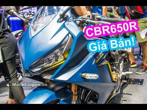 Giá xe Honda CBR650R 2019 màu sắc so với CBR1000RR CB650R