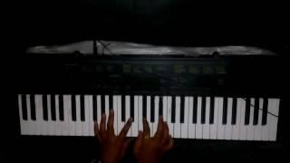 Janatha Garage Theme Music On Keyboard By