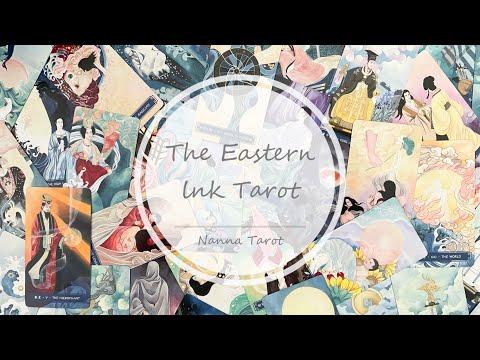 開箱  東方水墨塔羅牌 豪華禮盒限量版 • The Eastern lnk Tarot // Nanna Tarot