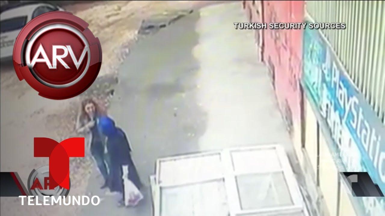Dos mujeres fueron tragadas por la tierra | Al Rojo Vivo | Telemundo