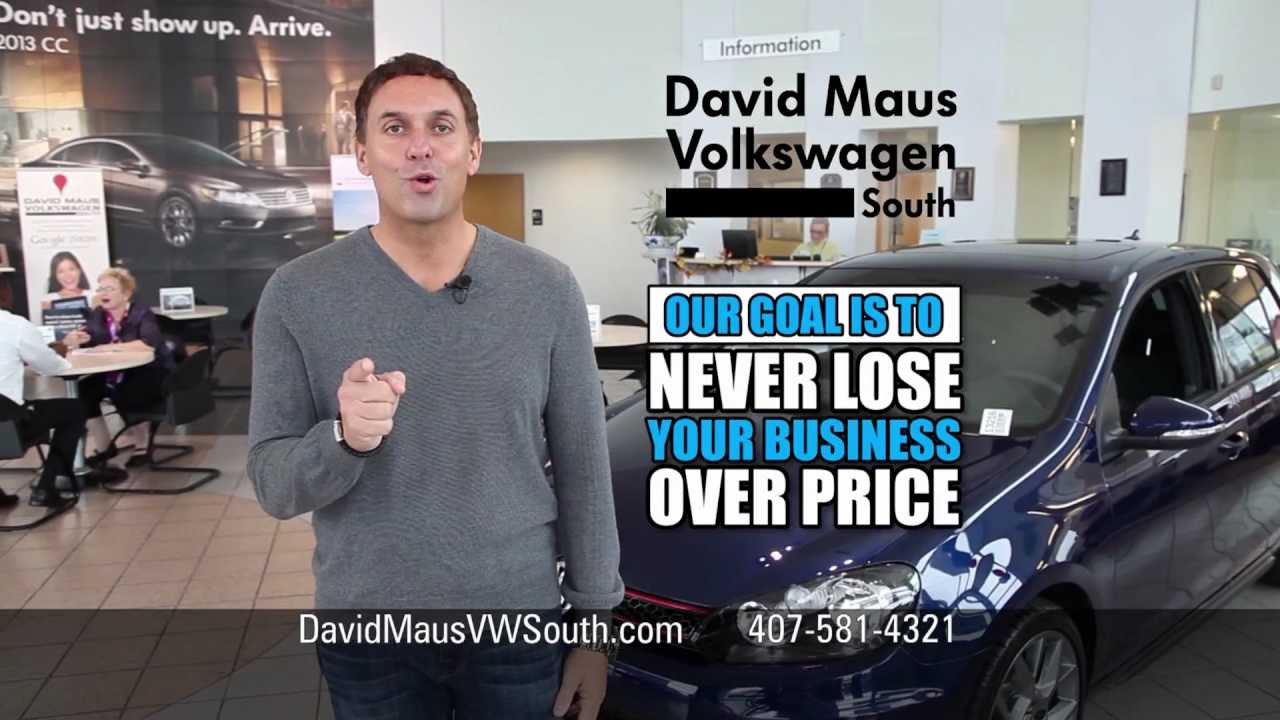 David Maus Vw South November Commercial Youtube