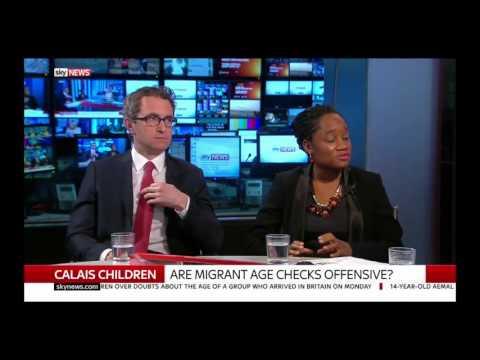 Douglas Murray on Sky News debating Migrant Crisis