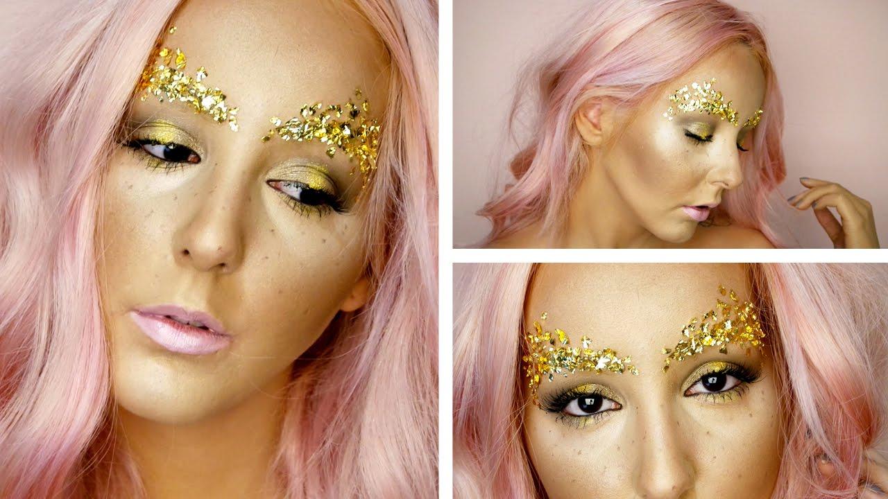 Bronze Goddess Goldpink Makeup Tutorial By Tashaleelyn Youtube