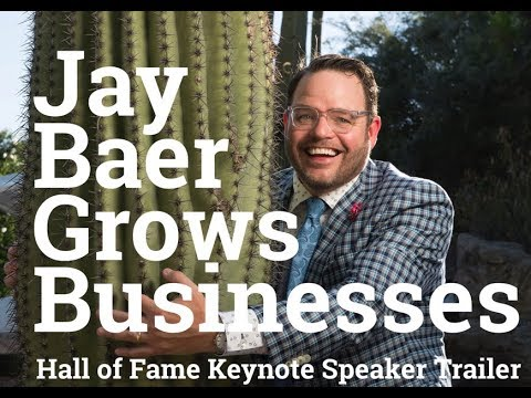 Jay Baer Grows Businesses - Keynote Speaker and Emcee Trailer