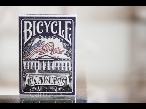 Bicycle U.S. Presidents Deck Playing Cards Review