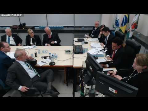 Depoimento do ex presidente Luiz Inácio Lula da Silva ao juiz Sérgio Moro (pt2)