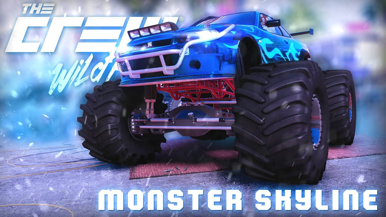 how to get a monster truck on the crew