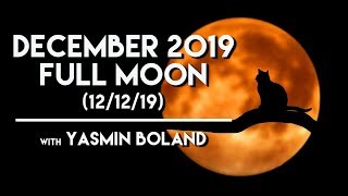 December 2019 (12/12/19) Full Moon Forecast - with Yasmin Boland