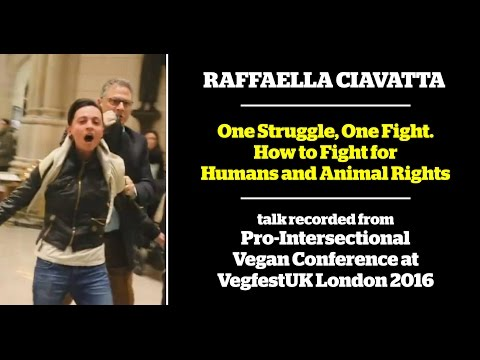 Raffaella Ciavatta - One Struggle, One Fight. How to Fight for Humans and Animal Rights