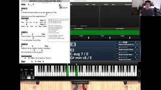 Piano Lesson: Infinito Dios Levels 1-4