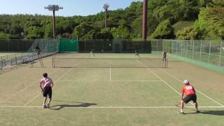 2017 九州オープン ソフトテニス選手権 男子準々決勝-④