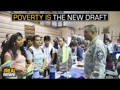 Poverty Is the New Draft