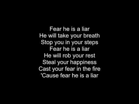 Fear Is A Liar- Zach Williams Lyrics