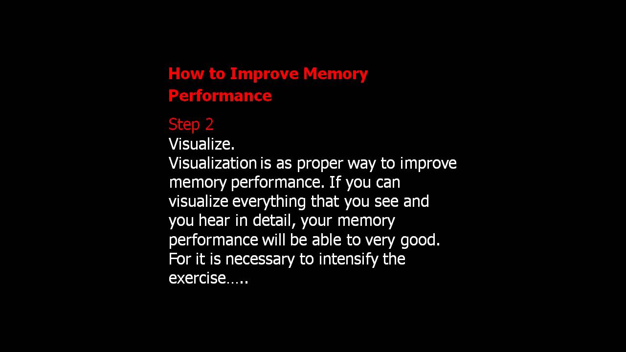 Memory improvement tips snake picture 14