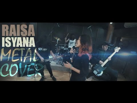 Raisa & Isyana Sarasvati - Anganku Anganmu Rock/Metal Cover by Jeje GuitarAddict ft Revi Novka