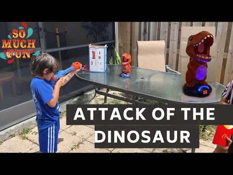 We got an awesome Dinosaur game for the kids. 100 degrees in Florida. Bisaya joke of the day.