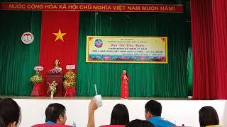 Tiếng Chày TRên Sóc Bom Bo - Trần Thanh Thùy lớp TCL K9 Long Mỹ