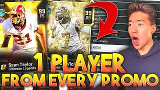 ONE PLAYER FROM EVERY PROMO LINEUP! Madden 20 Ultimate Team