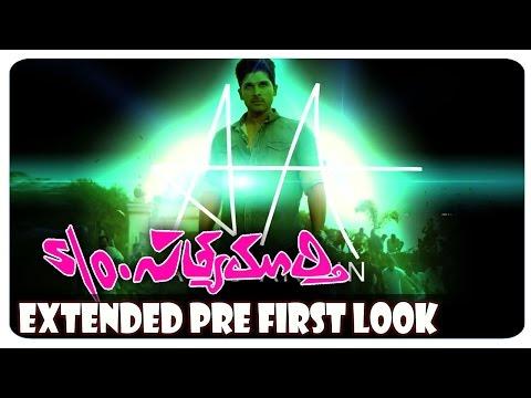 Allu Arjun S/O Satyamurthy Movie Extended Pre-Look   Samantha   Devi Sri Prasad   Trivikram