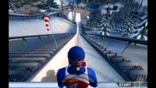 Winter Sports: The Ultimate Challenge 2008 PS2 Gameplay (RTL Sports) Playstation 2