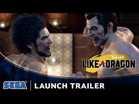 Yakuza: Like a Dragon   Launch Trailer