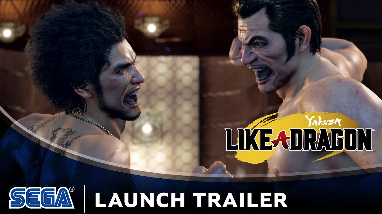 Yakuza: Like a Dragon - Launch Trailer