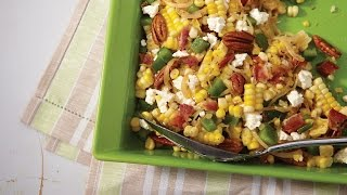 Corn, Bacon And Feta Salad | All You Need Is Cheese