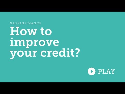 How To Improve and Fix Credit
