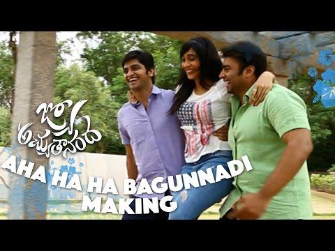 Aha Ha Ha Bagunnadi Song Making - Jyo Achyutananda - Nara Rohith, Naga Shaurya, Regina