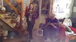 Bee Gees - You Should Be Dancing  - Acoustic Cover - Jasmine Thorpe ft. Danny McEvoy