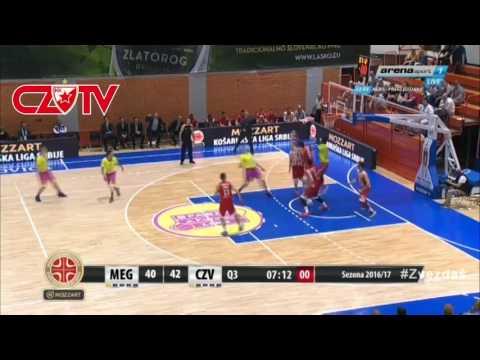 Player of the game: Stefan Jović   Mega Leks - KK Crvena zvezda mts ,KLS 11 Kolo   2017