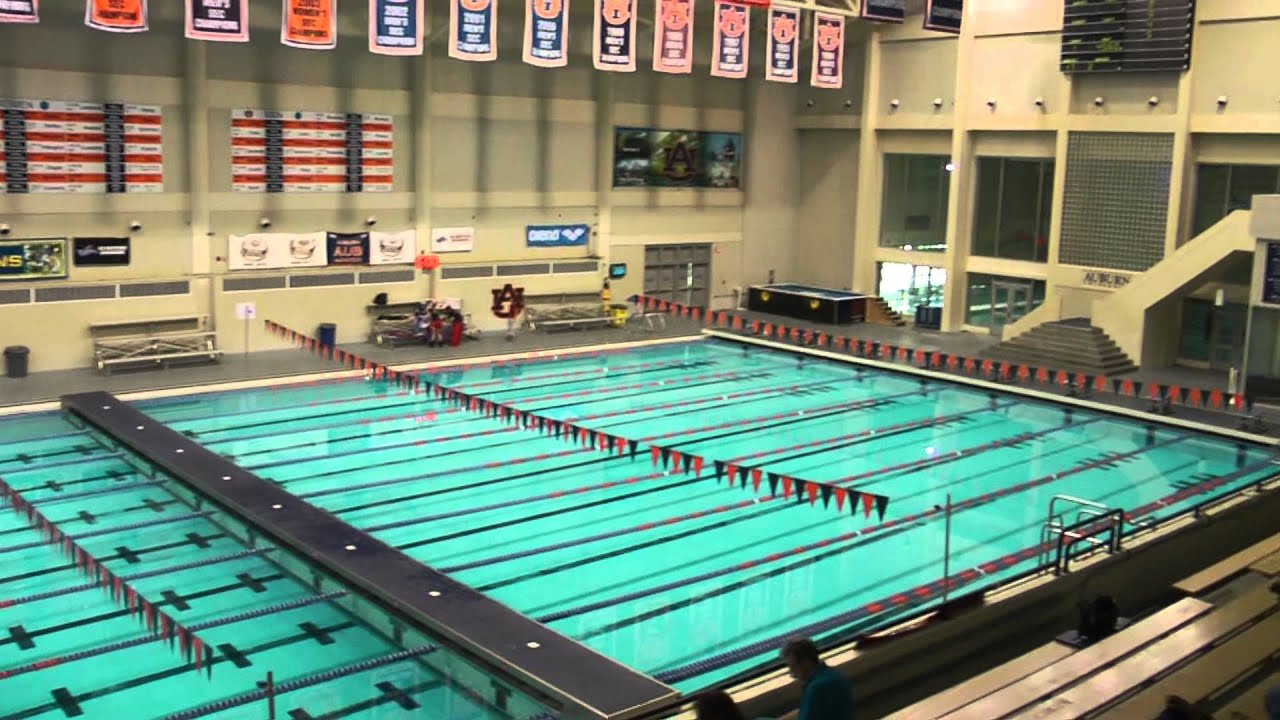 James E Martin Aquatics Center Auburn University Sportstipendium Usa Youtube
